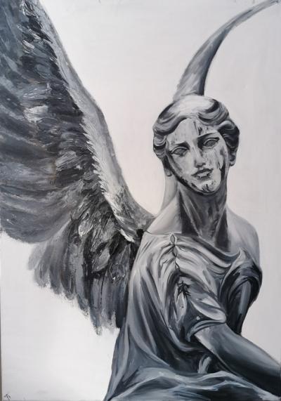 Картина «Ангел» купить живопись маслом Киев