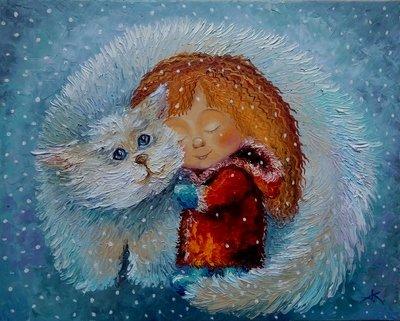 Картина «В объятиях счастья»