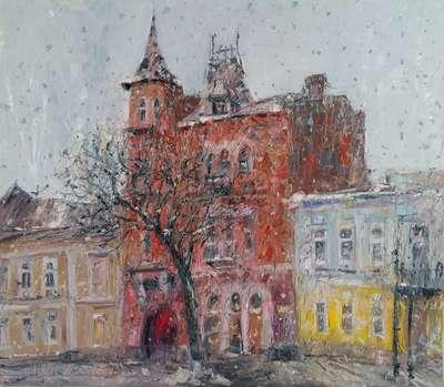 Картина «Киев, замок Барона»