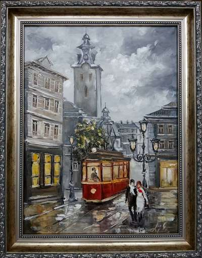 Картина «Очарование Львова» (в раме)