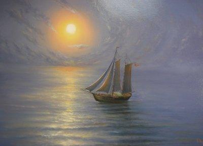 Картина «Тишина» 3