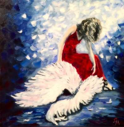 Картина «Падший ангел»