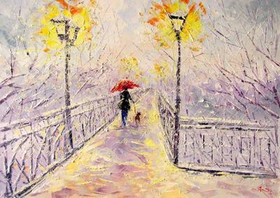 Картина «Снег идет»