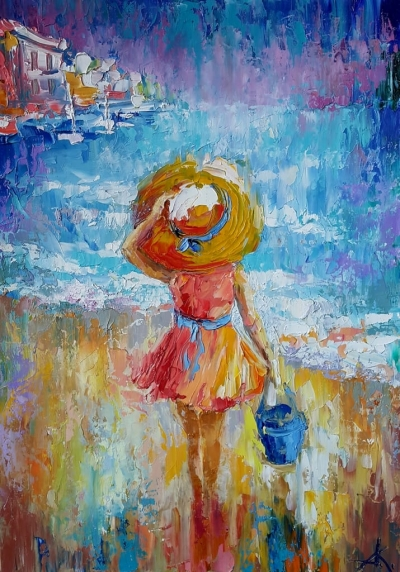 Картина «Солнечный день» 3