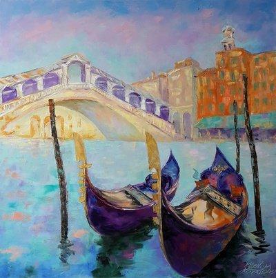 Картина «Венеция. Ponte di Rialto»