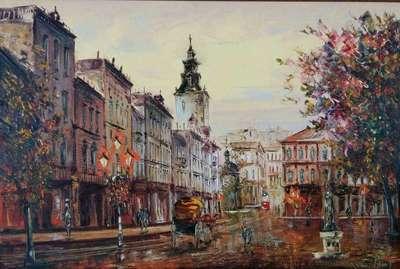 Картина «Виды Львова» 2