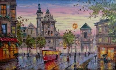 Картина «Виды Львова» 3