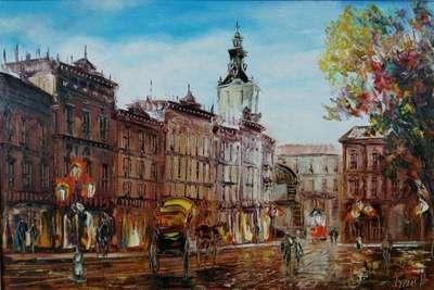 Картина «Виды Львова» 4