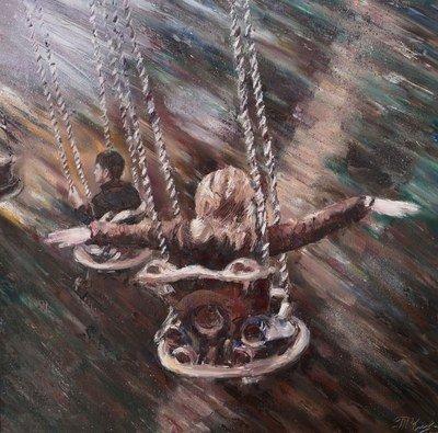 Картина «Вольный полет» купить живопись Украина