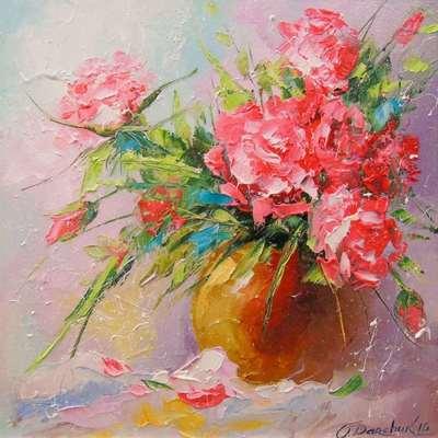 Картина «Букет роз»