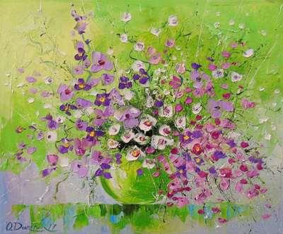 Картина «Букет весенних цветов»
