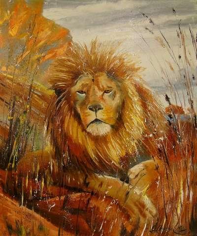 Картина «Царь зверей»