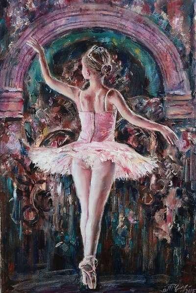 Картина «Дебют» купить живопись Украина