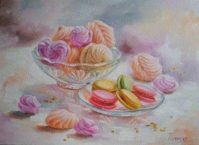 Картина «Десерт в хрустале»