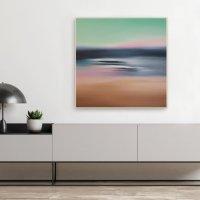 Картина маслом морской пейзаж «Глубоко внутри» купить живопись для современного интерьера