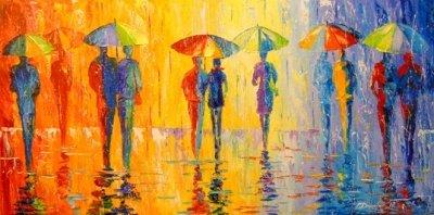 Картина «Дождь» 2