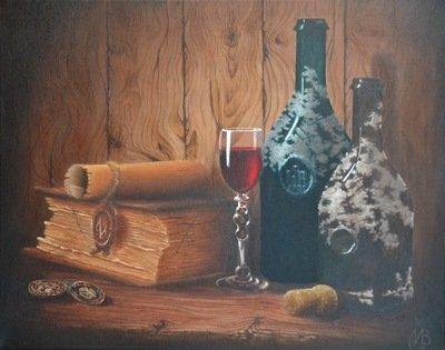 Картина «Две бутылки»
