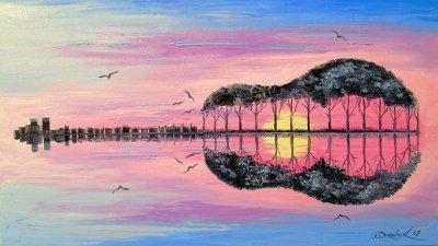 Картина «Гитара» 2