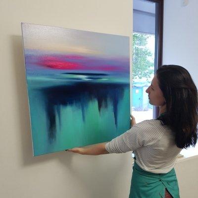 Картина «Глубокая вода»
