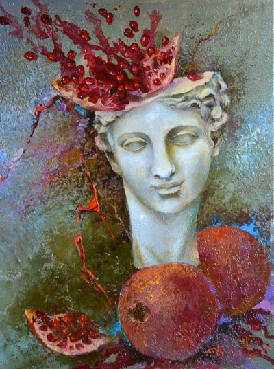 Картина «Идея» купить живопись для современных интерьеров Украина