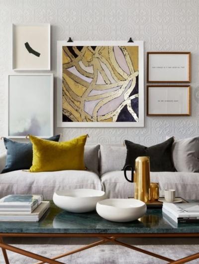 Картина «Бесконечные воспоминания» живопись для современных интерьеров
