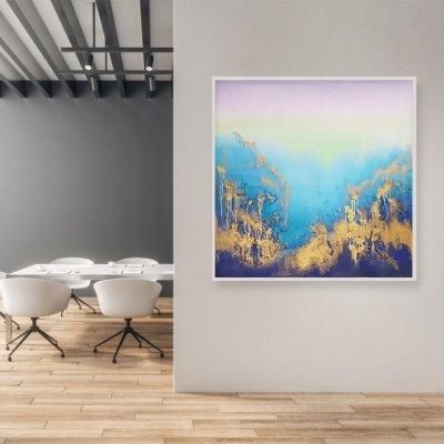 Картина для современного интерьера «Из глубины» картины абстракции современных художников Украина