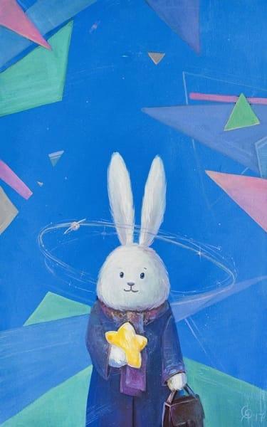 Картина для детской комнаты «Его вселенная» купить картину маслом Киев
