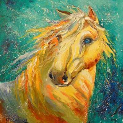Картина «Лошадка»