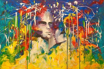 Картина «Мир для двоих»
