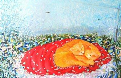 Картина маслом «Монамурр» купить живопись для современных интерьеров Украина