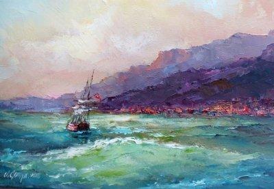 Картина «Морской пейзаж» 2