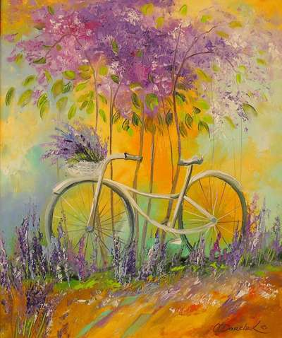 Картина «Мой велосипед»