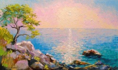 Картина «На лазурном берегу»