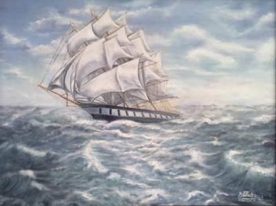 Картина «На всех парусах»