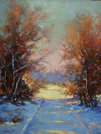 Картина «Начало зимы»