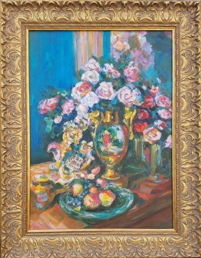 Картина «Натюрморт. Розы»