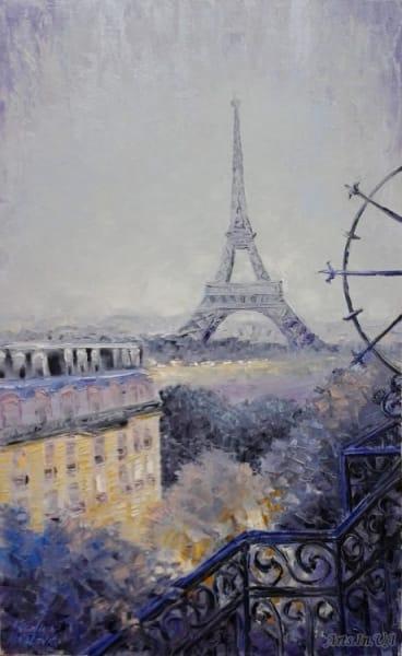 Картина «Парижский воздух, как мечта...»
