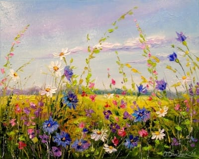 Картина «Полевые цветы» 4