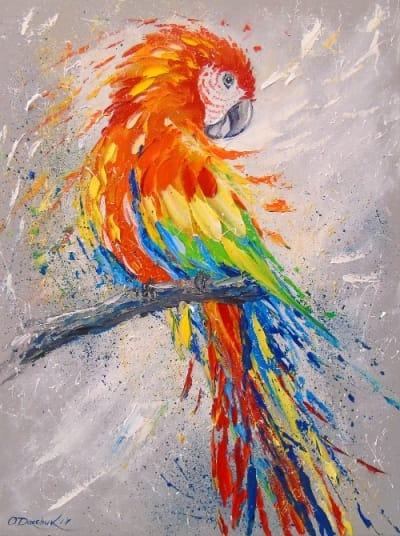 Картина «Попугай»