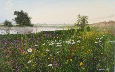 Картина «Раннее утро» - купить живопись для современных интерьеров Украина