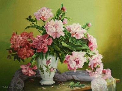 Картина «Розовая любовь»