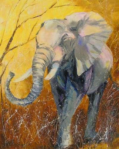Картина «Слон» 2