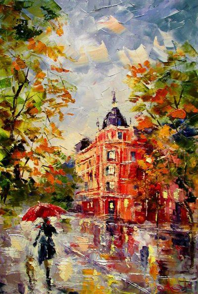 Картина «Снова осень»