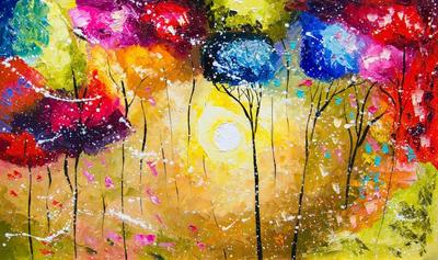 Картина «Солнечный день»