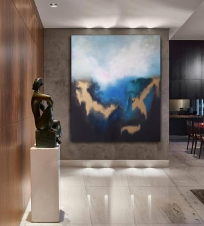Картина для современных интерьеров «Из глубины 9» купить картину море Киев