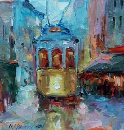 Картина «Трамвайчик»