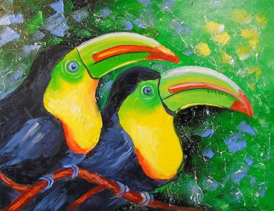 Картина «Туканы» 2