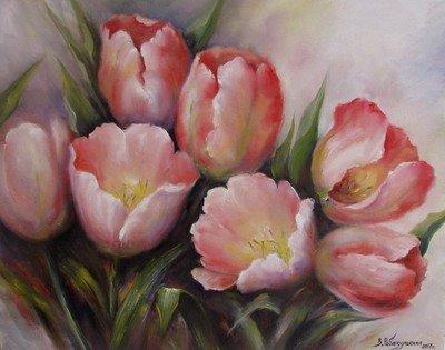 Картина «Тюльпаны» 4