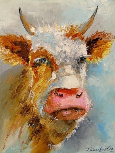 Картина «Юный бык»