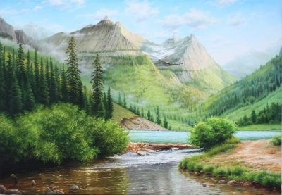 Картина «Утренняя свежесть»